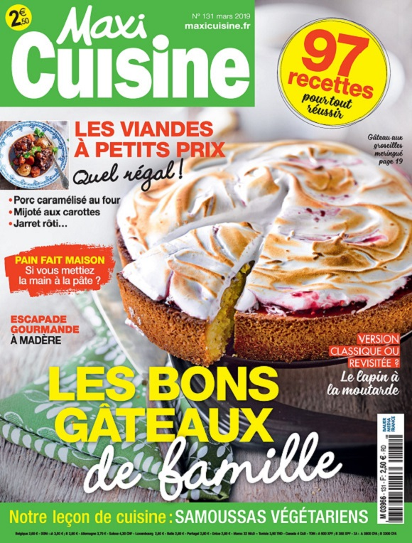 Maxi Cuisine N°131 – Mars 2019