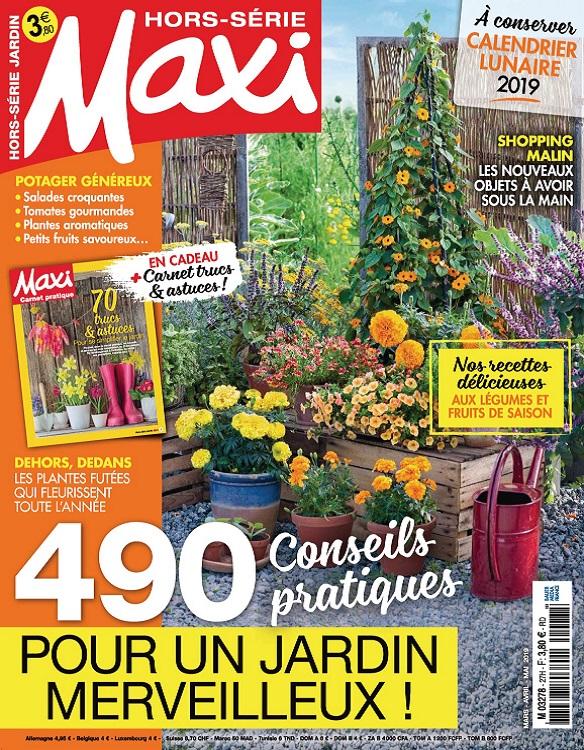Maxi Hors Série Jardin N°27 – Mars-Mai 2019
