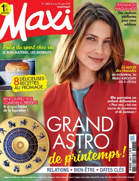 Maxi N°1688 Du 4 au 10 Mars 2019