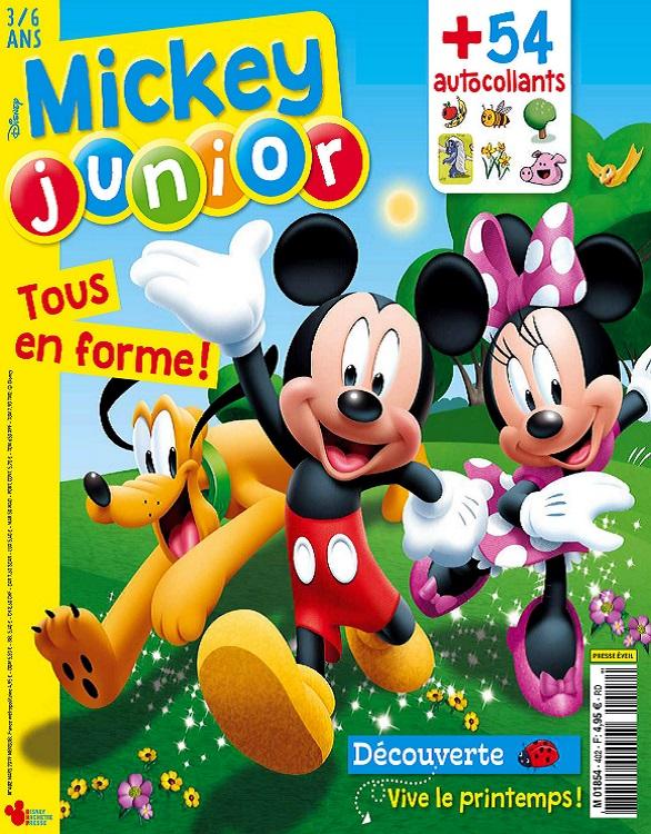 Mickey Junior N°402 – Mars 2019