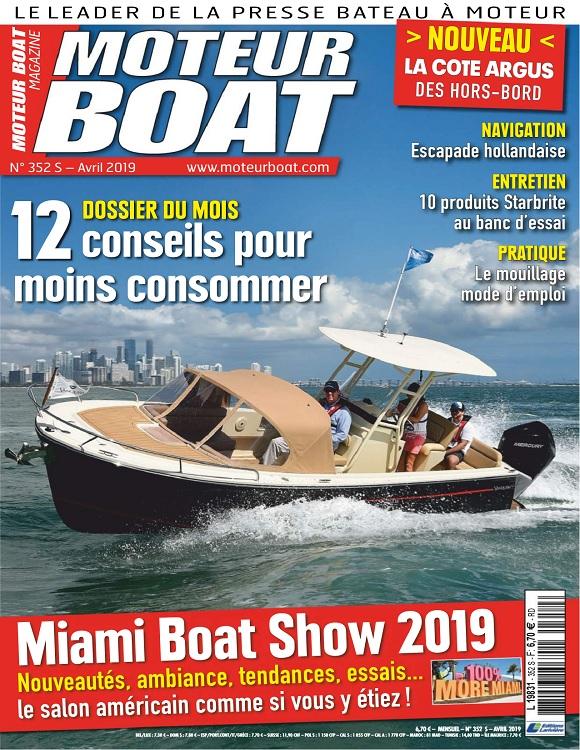 Moteur Boat N°352 – Avril 2019