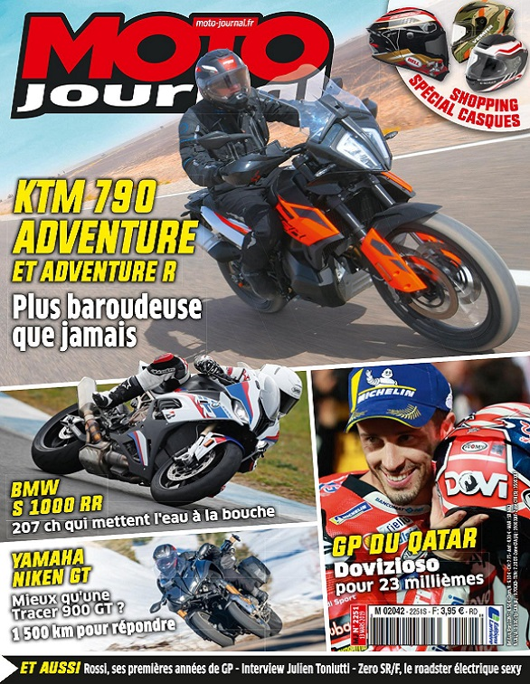 Moto Journal N°2251 Du 13 Mars 2019