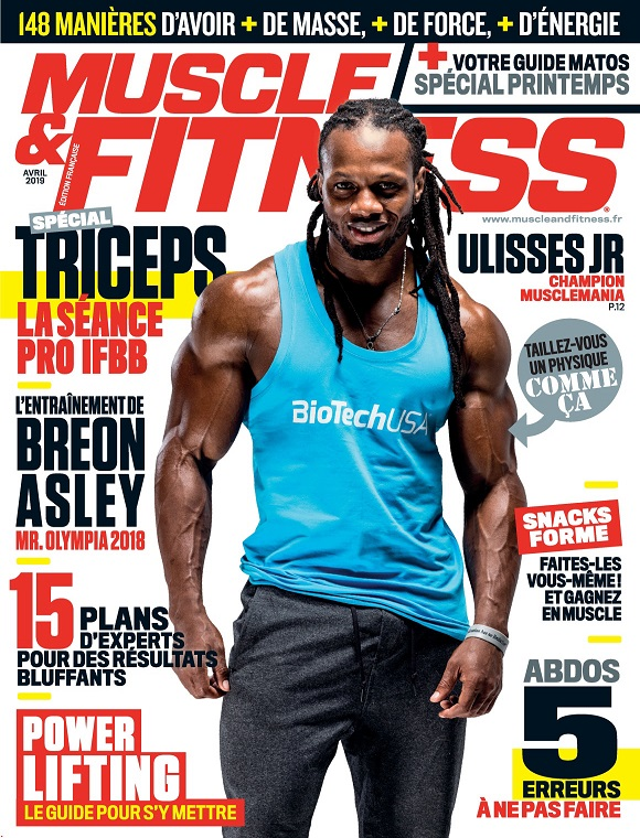 Muscle et Fitness N°376 – Avril 2019