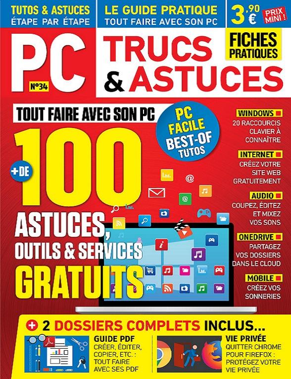 PC Trucs et Astuces N°34 – Mars-Mai 2019