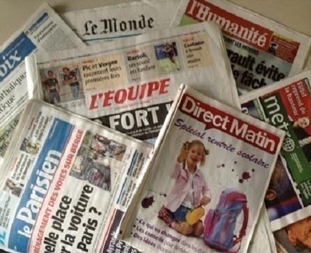 Pack Journaux Français Du Vendredi 8 Mars 2019