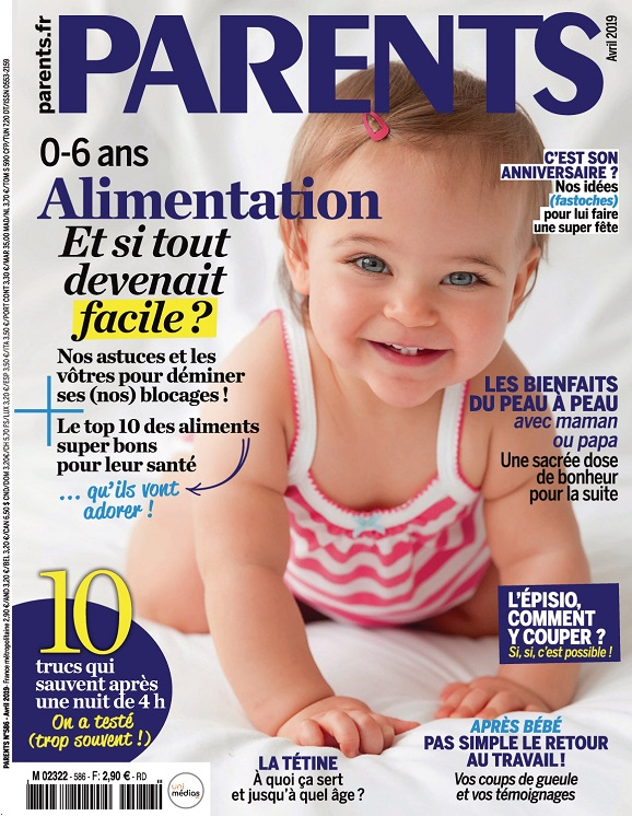 Parents N°586 – Avril 2019