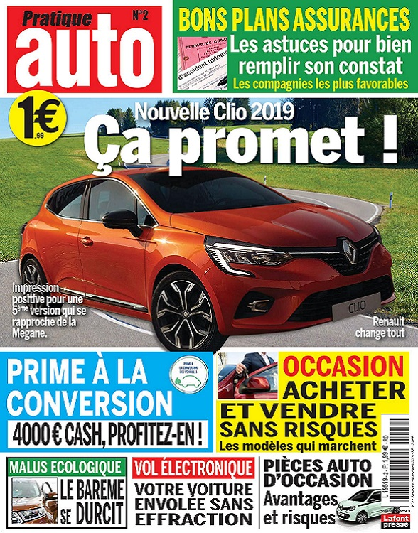 Pratique Auto N°2 – Mars-Avril 2019