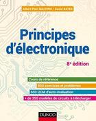 Principes d'électronique – 8e éd.-Cours et exercices corrigés (Sciences de l'ingénieur)