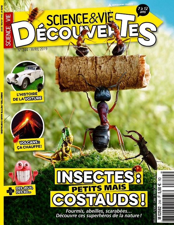 Science et Vie Découvertes N°244 – Avril 2019