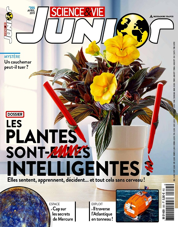 Science et Vie Junior N°355 – Avril 2019