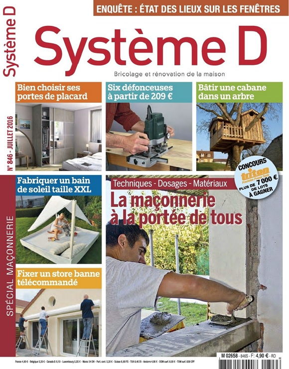 Système D N°846 – La Maçonnerie à La Portée de Tous