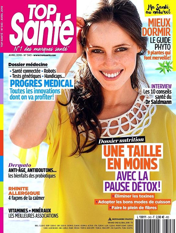 Top Santé N°343 - Avril 2019