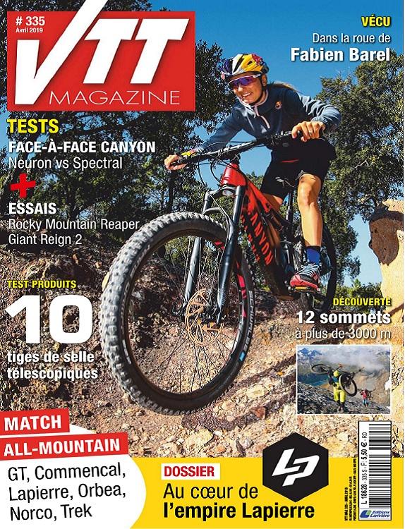 VTT Magazine N°335 – Avril 2019