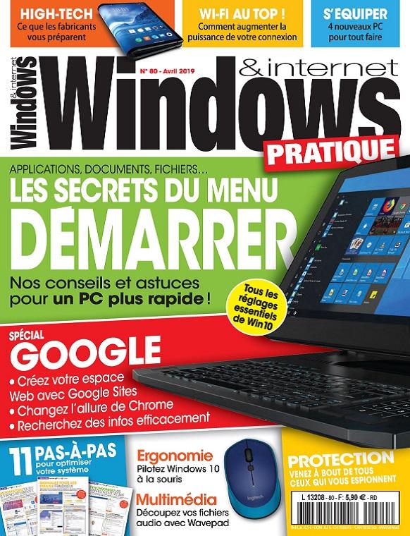 Windows et Internet Pratique N°80 – Avril 2019