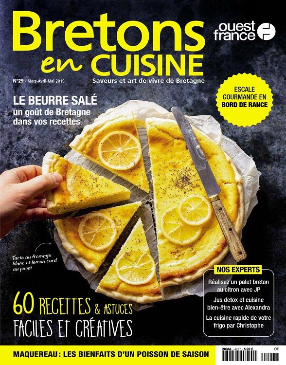 Bretons en Cuisine N°29 – Mars-Mai 2019