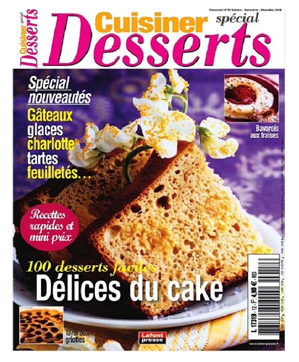 Cuisiner N°12 - Spécial Desserts