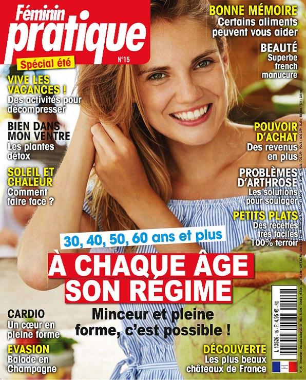 Féminin Pratique N°15 – Mai-Juillet 2019