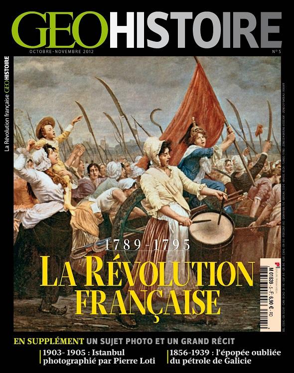 Geo Histoire N°5 – La Révolution Française
