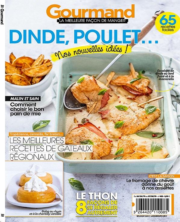 Gourmand N°422 Du 24 Avril au 7 Mai 2019