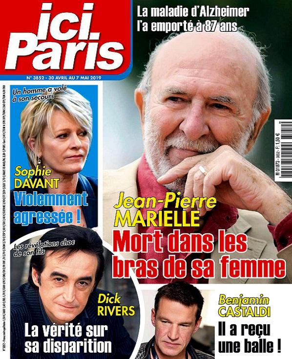 Ici Paris N°3852 Du 30 Avril au 7 Mai 2019