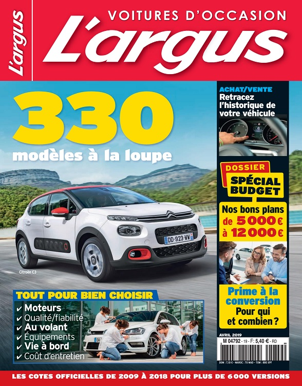 L'Argus Voitures d'Occasion N°19 – Avril 2019