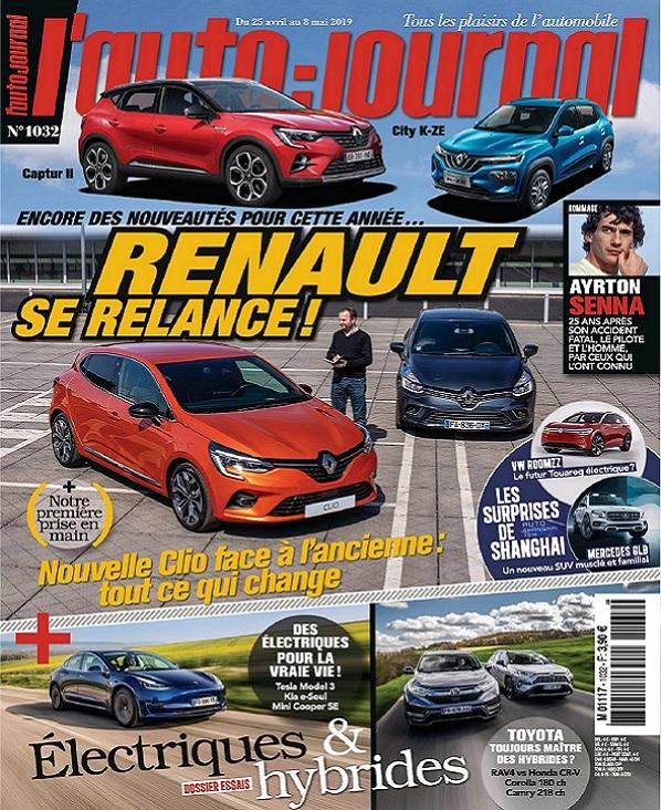 L'Auto-Journal N°1032 Du 25 Avril 2019