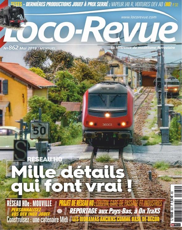 Loco-Revue N°862 – Mai 2019