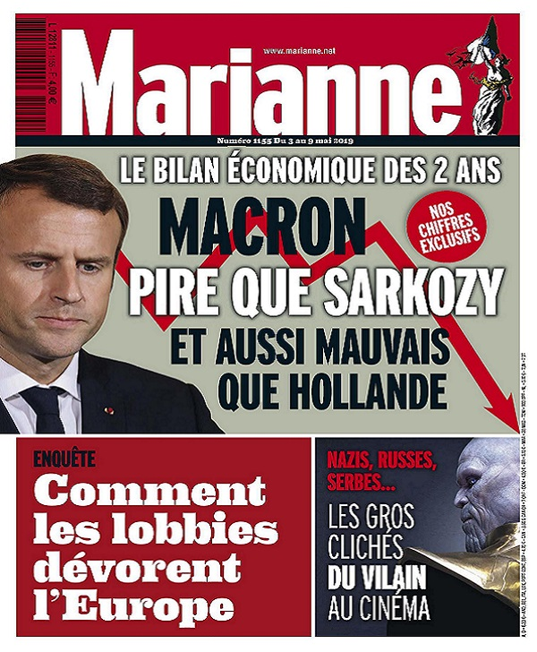 Marianne N°1155 Du 3 au 9 Mai 2019