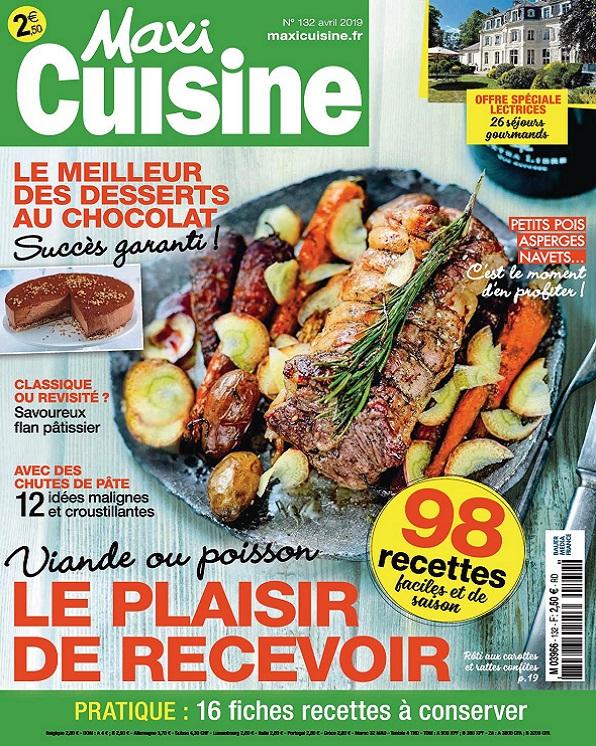 Maxi Cuisine N°132 - Avril 2019