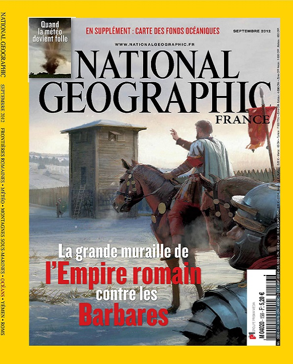 National Geographic N°156 – L'Empire Romains Contre Les Barbares