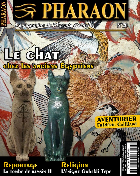 Pharaon N°20 – Le Chat Chez Les Anciens Égyptiens
