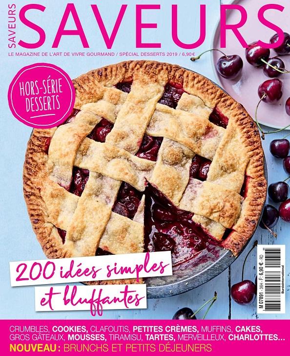 Saveurs Hors Série N°36 - Spécial Desserts 2019