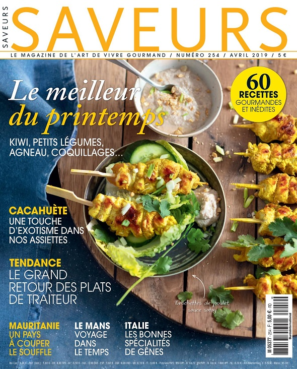 Saveurs N°254 - Avril 2019