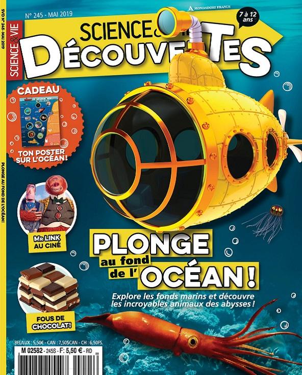 Science et Vie Découvertes N°245 – Mai 2019