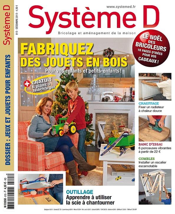 Système D N°815 – Fabriquez des Jouets en Bois