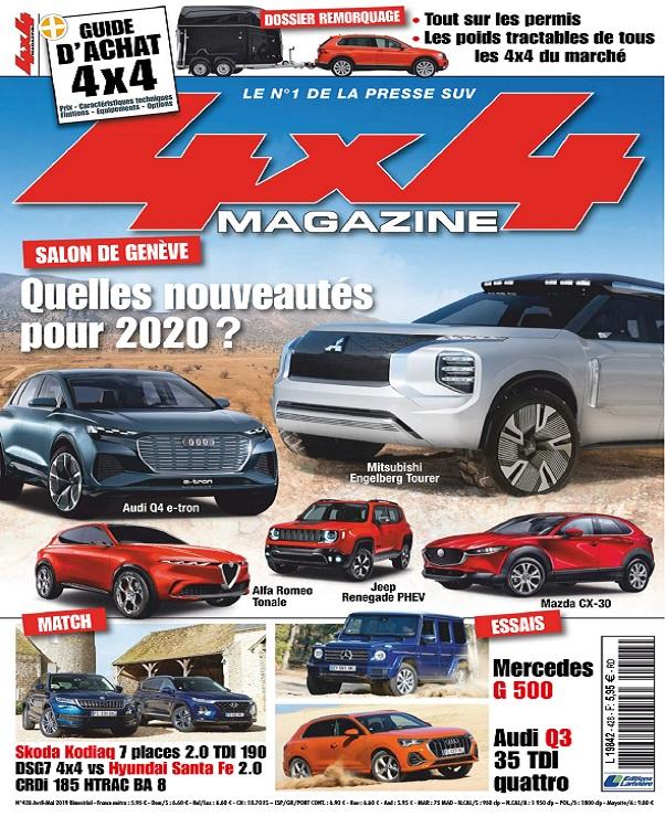 4x4 Magazine N°428 - Mai 2019