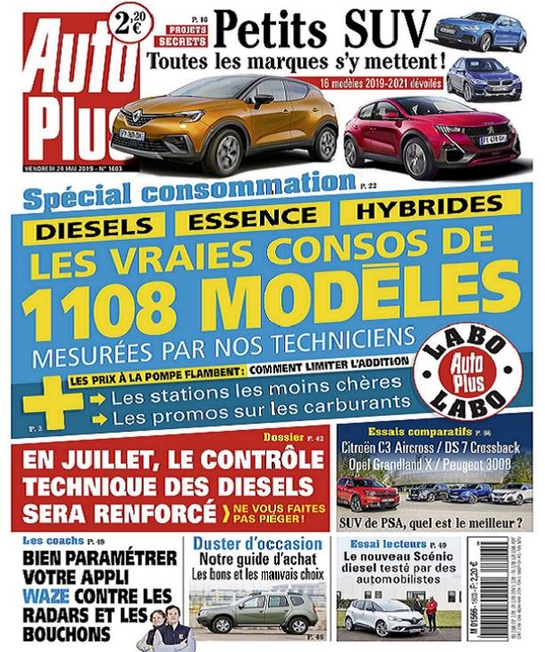 Auto Plus N°1603 Du 24 Mai 2019