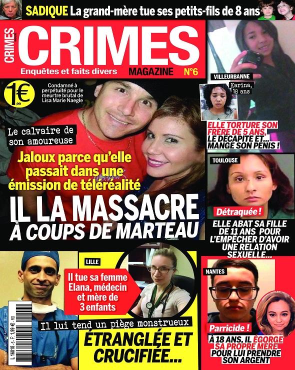 Crimes Magazine N°6 – Juin-Août 2019