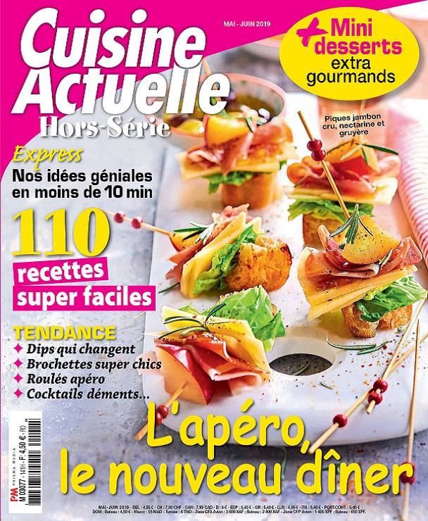 Cuisine Actuelle Hors Série N°141 - Mai-Juin 2019