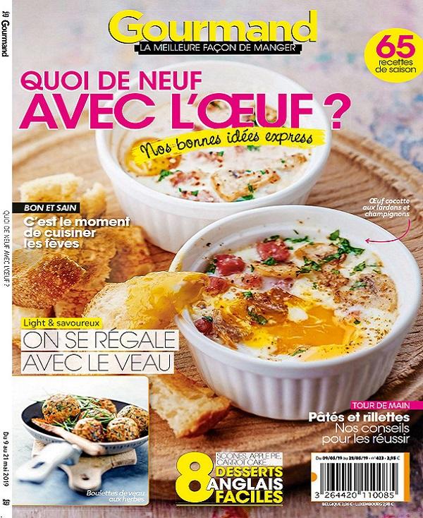Gourmand N°423 Du 9 au 21 Mai 2019