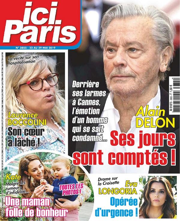 Ici Paris N°3855 Du 22 au 29 Mai 2019