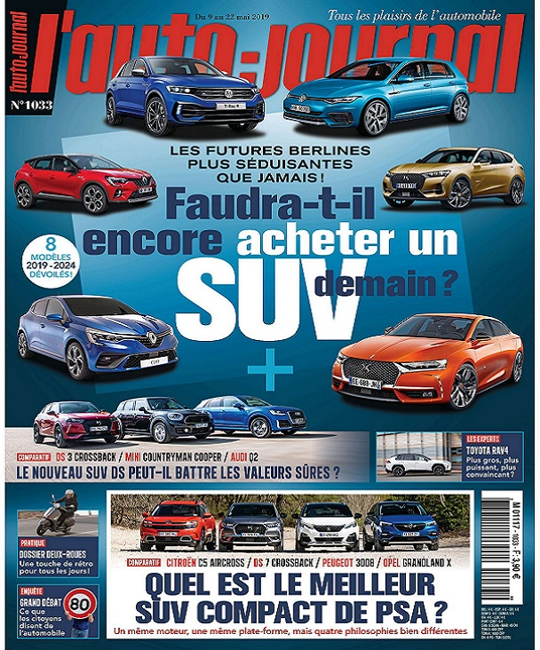 L'Auto-Journal N°1033 Du 9 Mai 2019