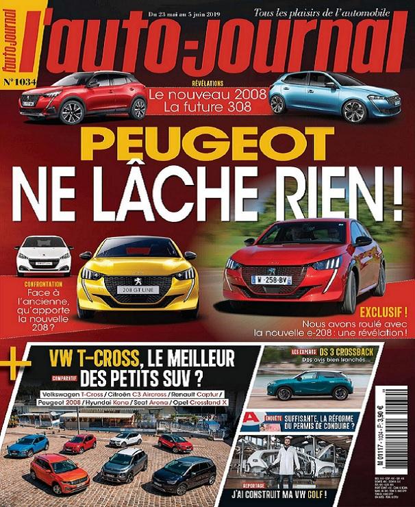 L'Auto-Journal N°1034 Du 23 Mai au 5 Juin 2019