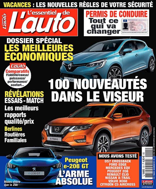 L'Essentiel De L'Auto N°121 - Juin-Août 2019