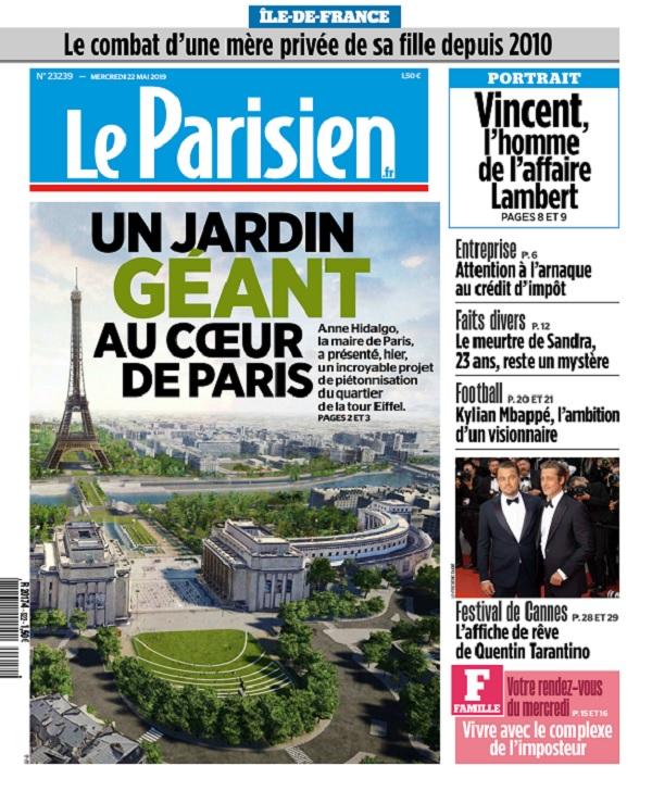Le Parisien Du Mercredi 22 Mai 2019