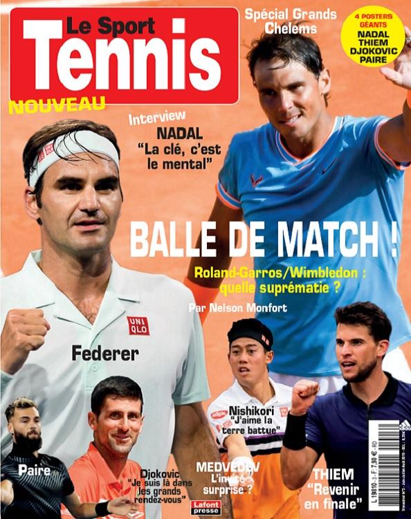 Le Sport Tennis N°3 – Juin-Août 2019