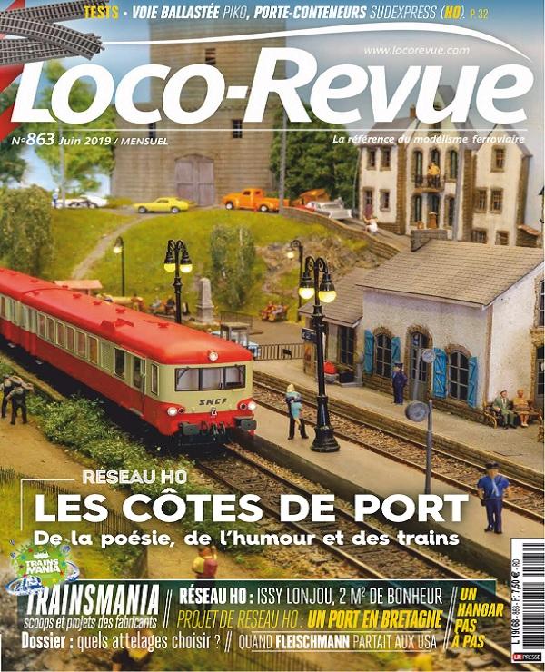 Loco-Revue N°863 – Juin 2019