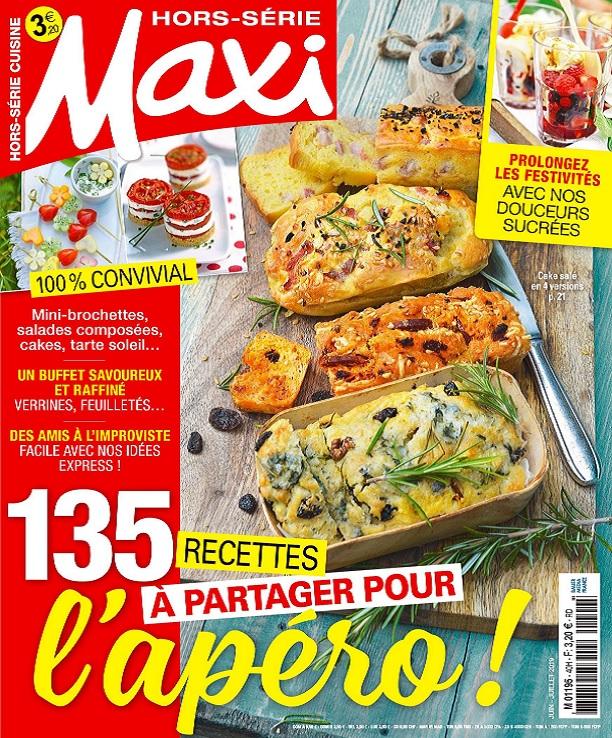 Maxi Hors Série Cuisine N°40 – Juin-Juillet 2019