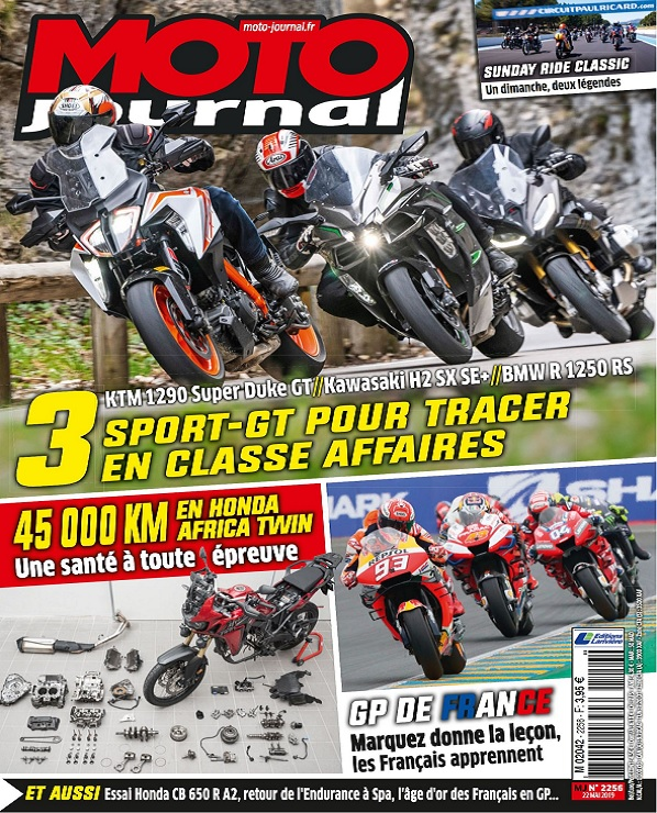 Moto Journal N°2256 Du 22 Mai 2019