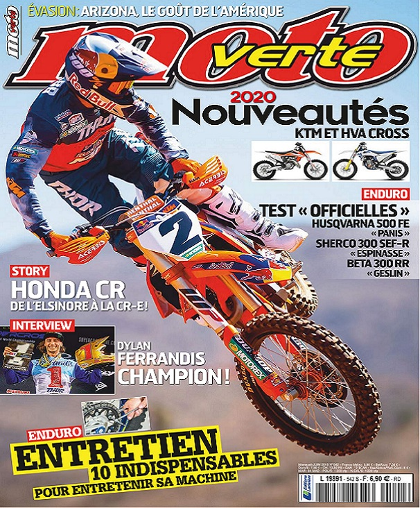 Moto Verte N°542 - Juin 2019